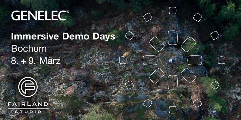 GENELEC S360 Vorführung – Immersive Demo Days in Bochum