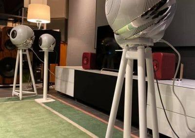 Cabasse - The Pearl Lautsprecher Test im Wohnraum